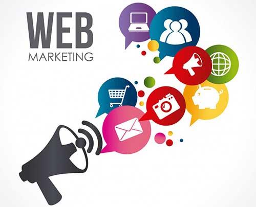 وب سایت بازاریابی