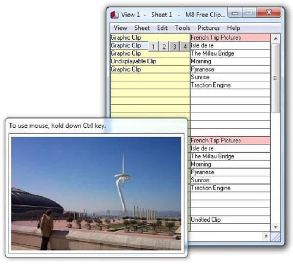 نرم افزار ذخیره سازی در کلیپ بورد - M8 Free Clipboard 24