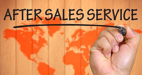 خدمات پس از فروش ، کلید رضایتمندی مشتریان
