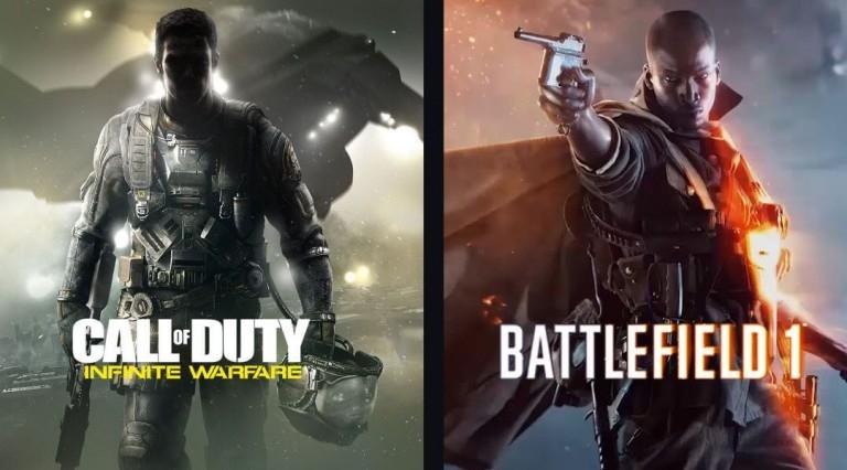 نبردی جذاب بین Call of Duty و Battlefield