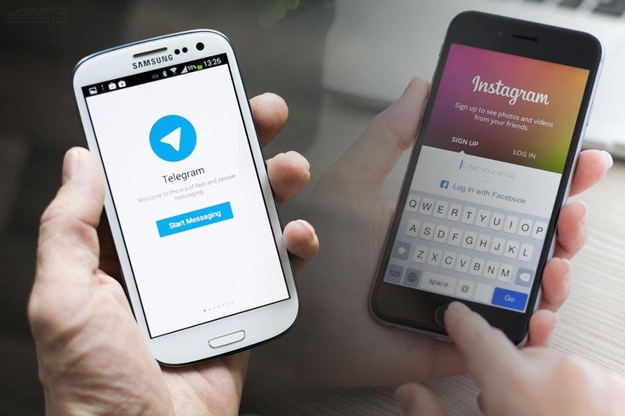 دانلود عکس و ویدیو اینستاگرام با نرم افزار تلگرام