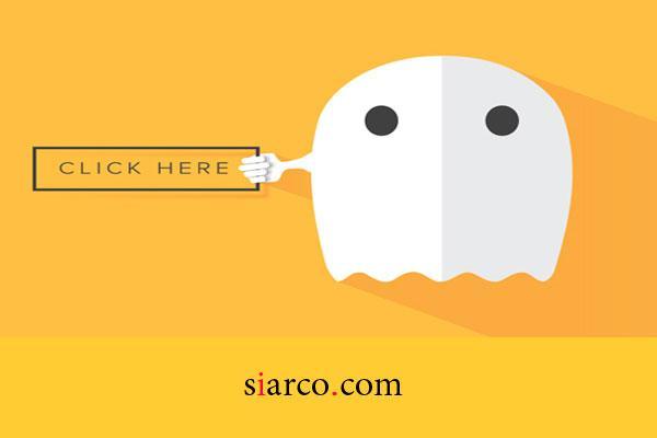 روش دکمه نامرئی(Ghost Button) در طراحی سایت چیست؟