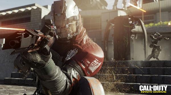 محیط فضایی برای بازی Call of Duty: Infinite Warfare