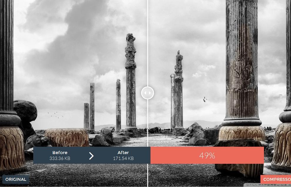 کاهش حجم تصاویر ، بدون کم شدن کیفیت