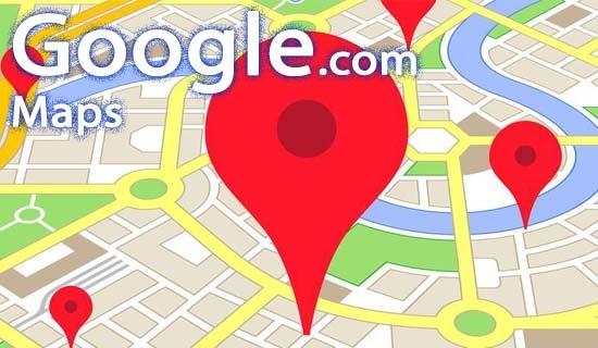 نمایش میزان مسافت در گوگل مپس