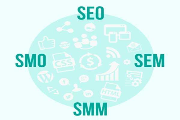 تاثیر SEO, SEM, SMO, SMM, SEW در طراحی سایت