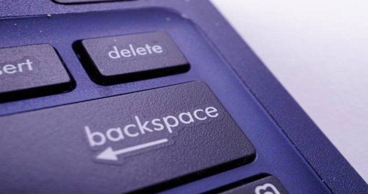 دکمه Backspace در گوگل کروم غیر فعال میشود